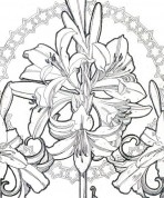 Alphonse Mucha Coloring Pages