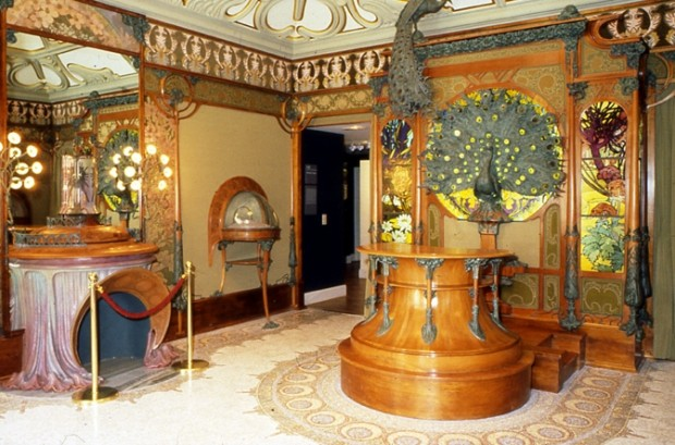 Boutique Fouquet Installation Of A Space Representing The