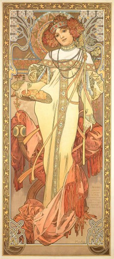 The Seasons: Autumn - Browse Works - Gallery - Mucha ...